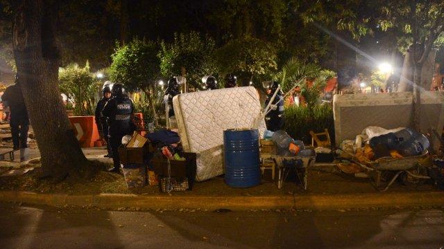 Denuncian retiro violento de centro de acopio en Condesa
