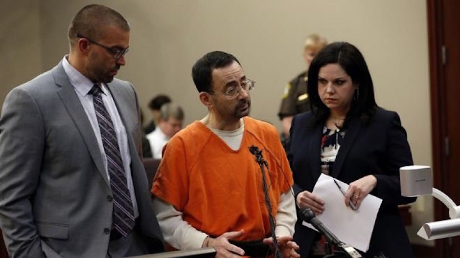 larry nassar se declara culpable de abuso sexual
