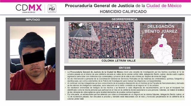 Aprehenden a presunto asesino de académico de UNAM