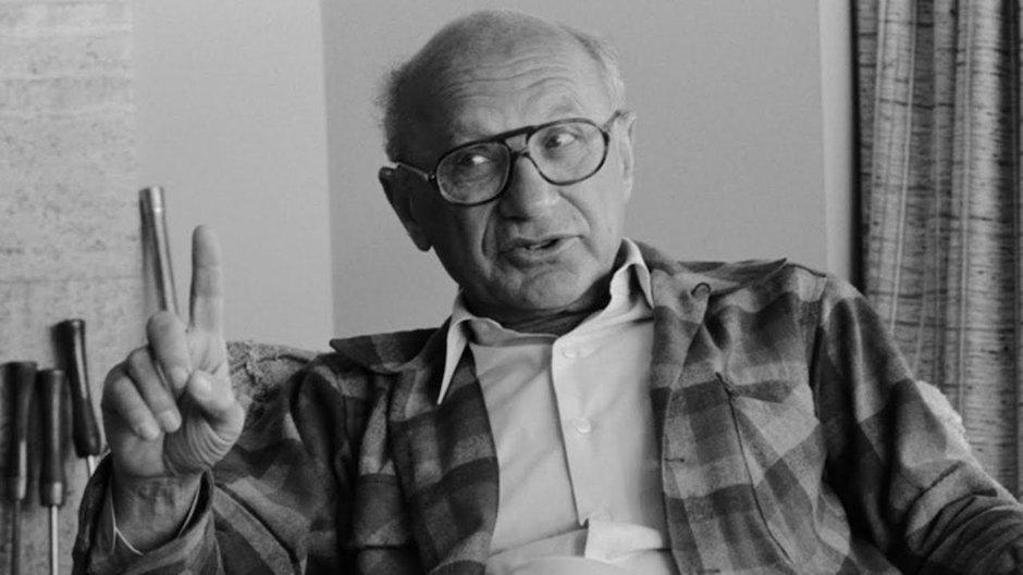 Milton Friedman uno de los economistas más polémicos