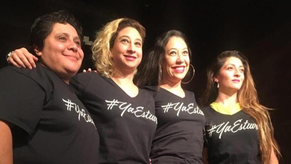 comediantes mexicanas contra acoso sexual en Stand up