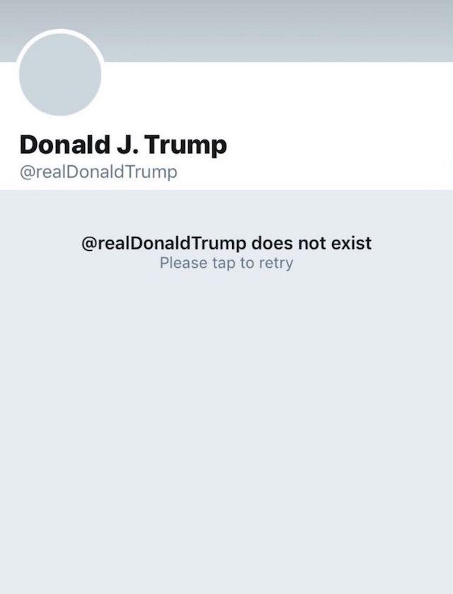 Borran el Twt de Trump y el internet agradece al héroe anónimo