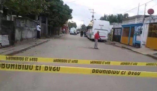 Asesinan a balazos a hombre en Coatzacoalcos, Veracruz