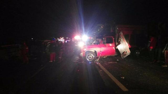 Accidente en México Puebla mata a 8 y deja 10 heridos