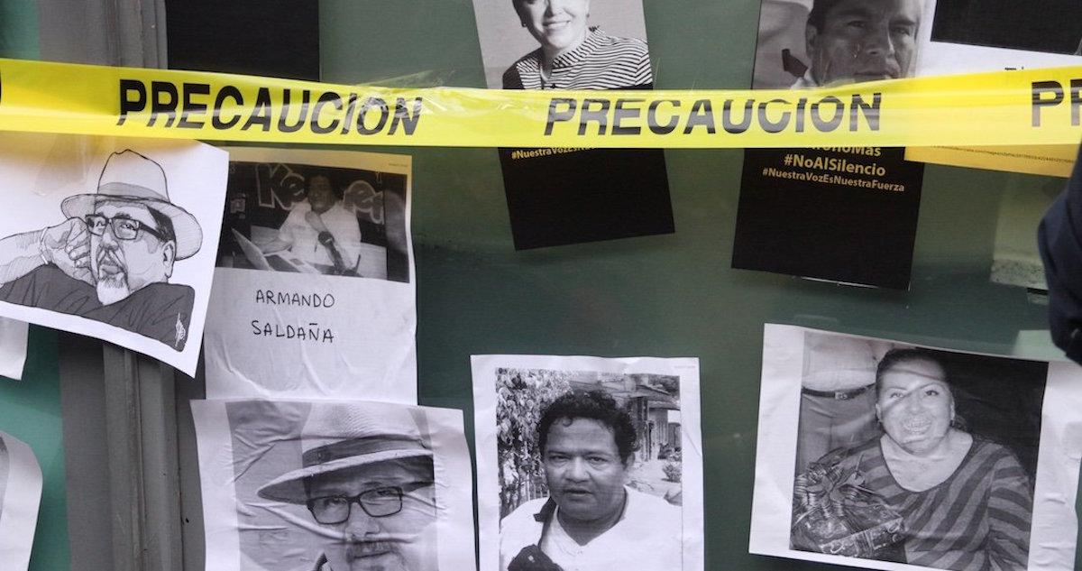 periodistas asesinado en méxico durante 2017