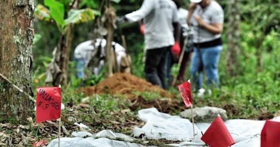 Duarte fosas clandestinas Veracruz excremento caballo