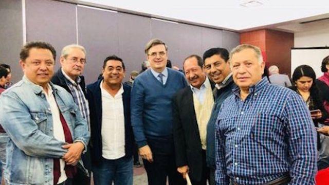 MArcelo Ebrard volvió, se reunió con Morena en CDMX