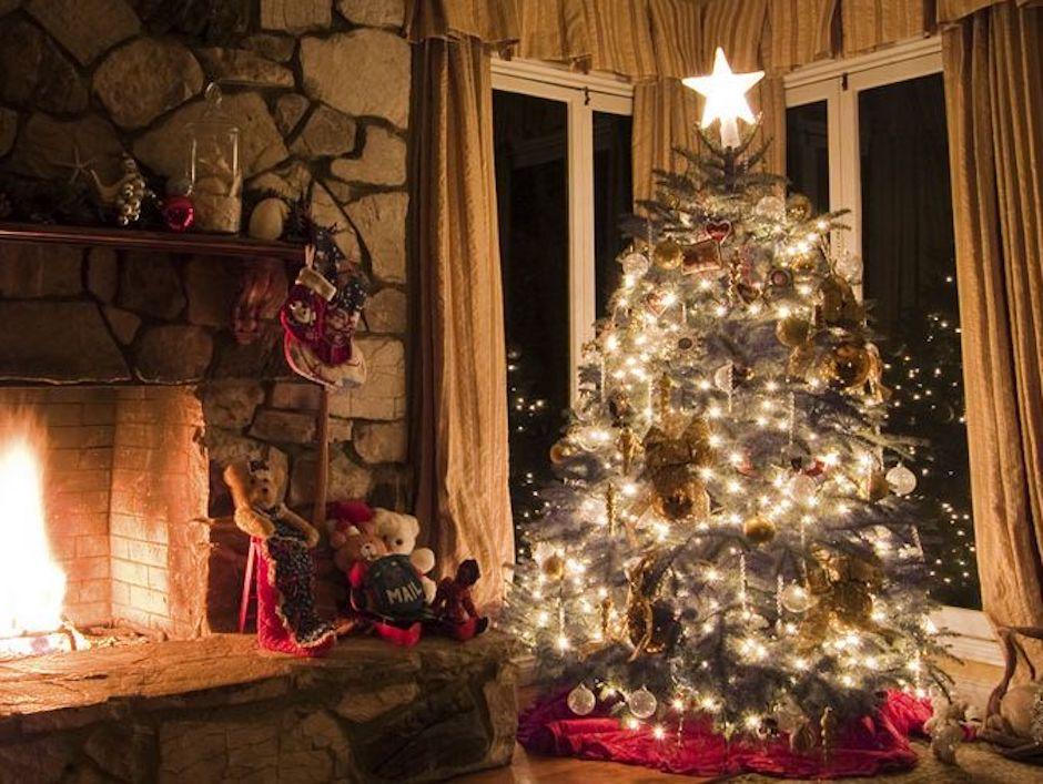 aguas con los a´rboles de navidad y los incendios en diciembre