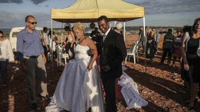 boda basurero america brasil brasilia lixao