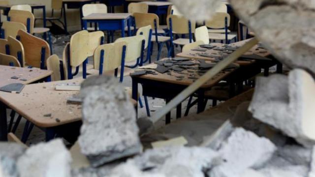 4 meses del sismo: cientos de escuelas y siguen sin clases