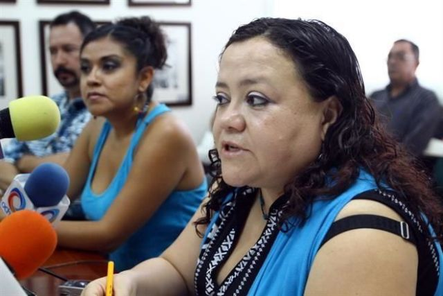Emma fue agredida por la regidora de Cañadas de Obregón