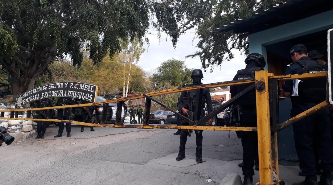 Policías del Estado y Federales y Ejército toman seguridad de Chilpancingo