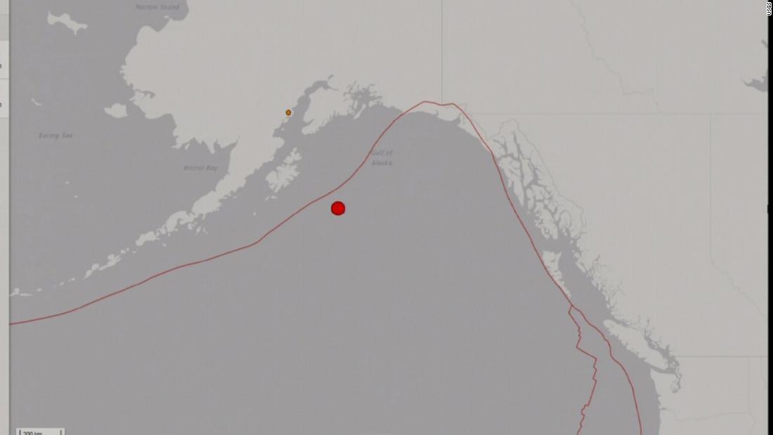 Sismo en Alaska dispara alerta de tsunami