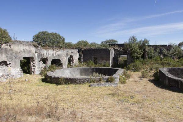 Paredones de la ex hacienda de San Antonio