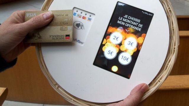 iglesia paris diezmo electronico tarjeta bancaria