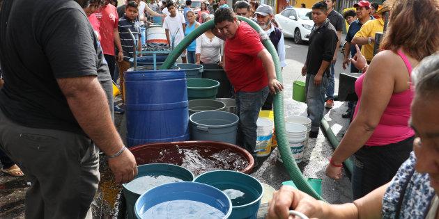 Por mantenimiento del sistema cutzamala, el agua en la CDMX se reduce en un 50%