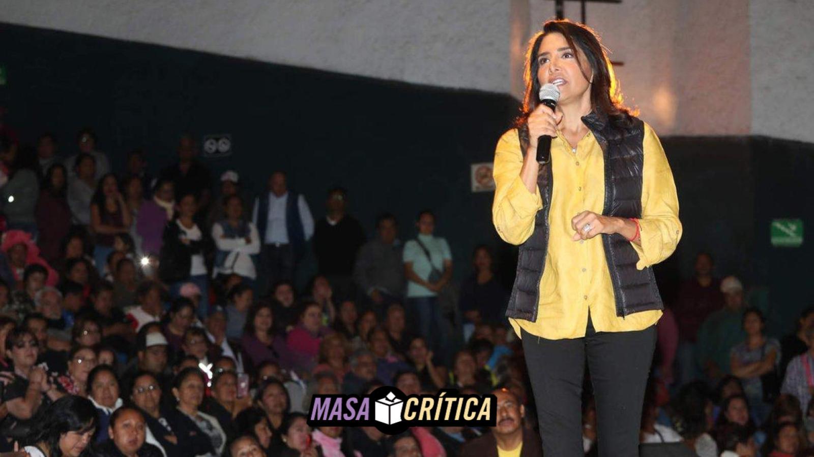 Alejandra BArrales precandidata del PRD a la CDMX