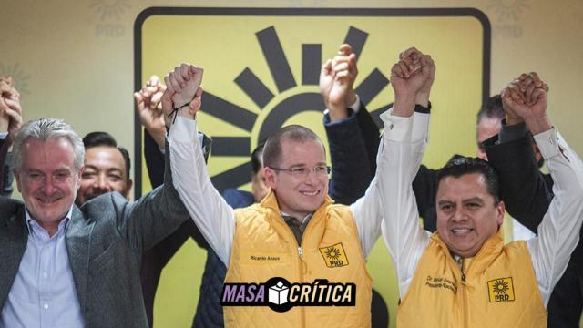 PRD abandera a Anaya como precandidato oficial del partido