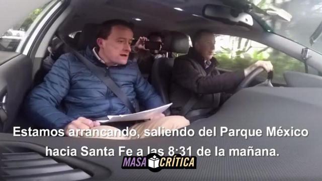 Meade y Mikel Arriola descubren que en la CDMX... ¡hay tráfico!