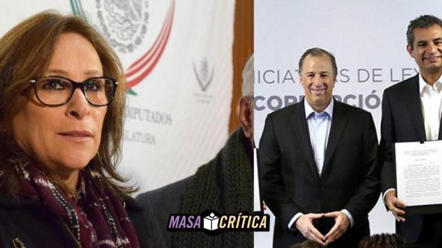 Meade presenta iniciativa anticorrupción, Morena acusa plagio