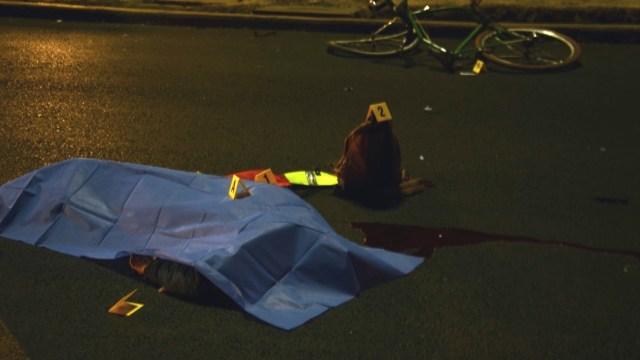 Un ciclista murió en accidente vial en Avenida Cuauhtémoc