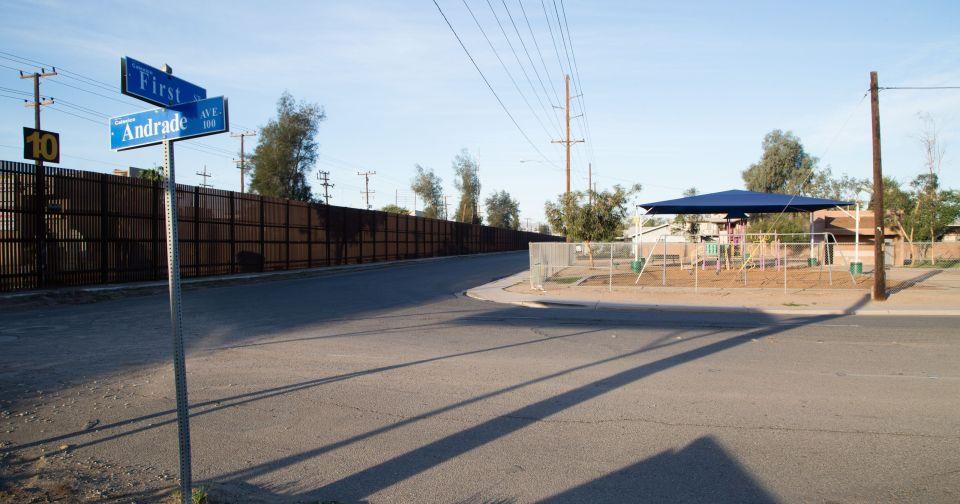 Preparan reconstrucción de muro fronterizo en Calexico