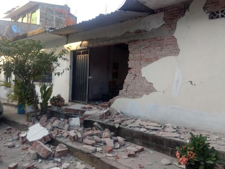 Sismo 7.2 grados deja afectaciones en Oaxaca