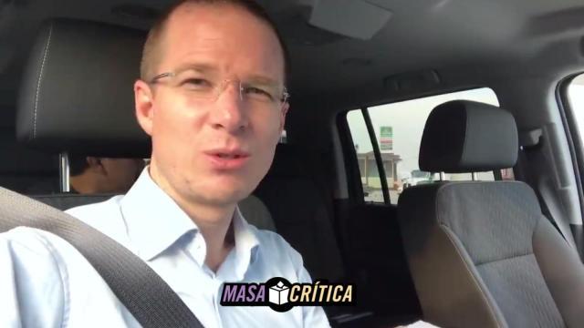 Anaya denuncia que agentes del CISEN lo han estado siguiendo