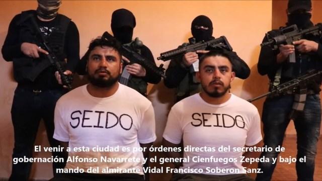 CJNG secuestra y obliga a confesar a agentes federales