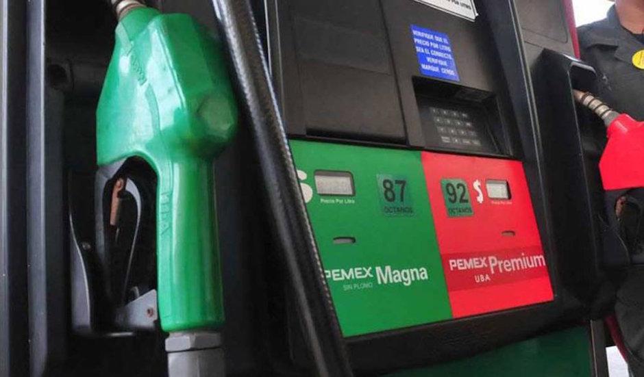 precios gasolina aumentan durante enero