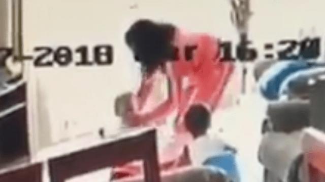 Video muestra a niñera golpeando a gemelos de 2 años, PGJ exige más pruebas