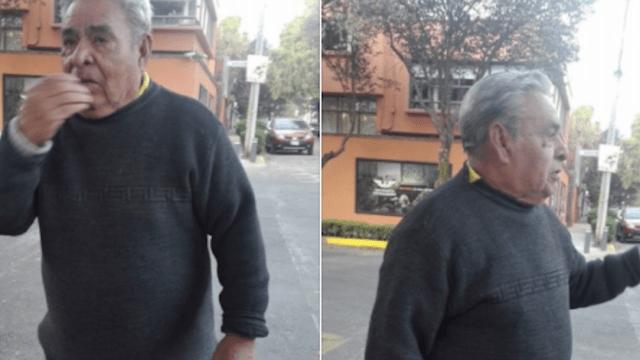 anciano adulto mayor finge infarto asalto escandon