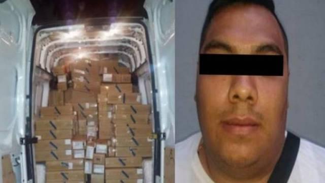 Recuperan 2870 iPhones robados en la Morelos