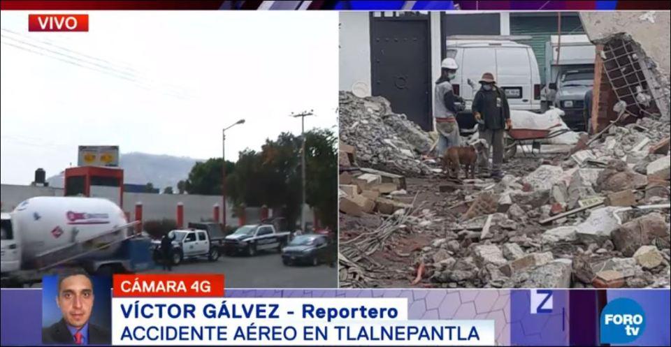 San Juanico, helicóptero, gasera, desploma