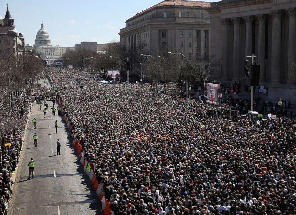 MArchForOurLives marcha anti armas estados unidos NRA PArkland