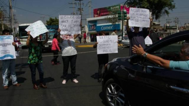 agua iztacalco cdmx desabasto protesta vecinos