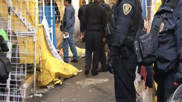 Reportan tres muertos y dos heridos tras tiroteo en Tepito