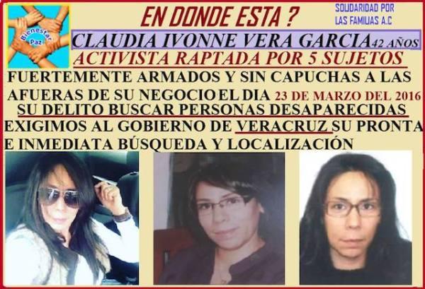 Claudia desapareció y la Fiscalía no investigó