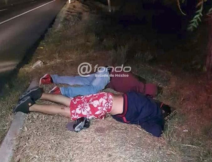 'Justicieros' ejecutaron a dos presuntos ladrones en la México-Pachuca