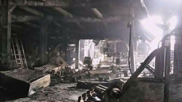 Incendio en centro comercia del Rusia deja 64 muertos