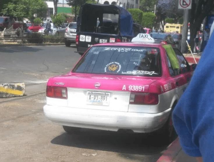 Fallece pasajero infarto taxi tlalpan hospital