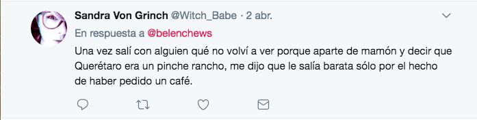 Peor cita en la vida Twitter
