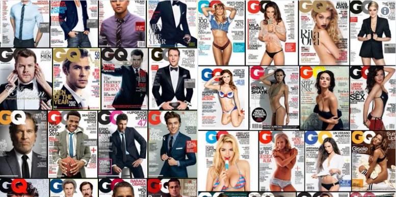 Revista GQ diferencias entre hombres y mujeres