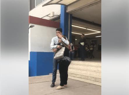Chica trans denuncia discriminación UANL Alexis López