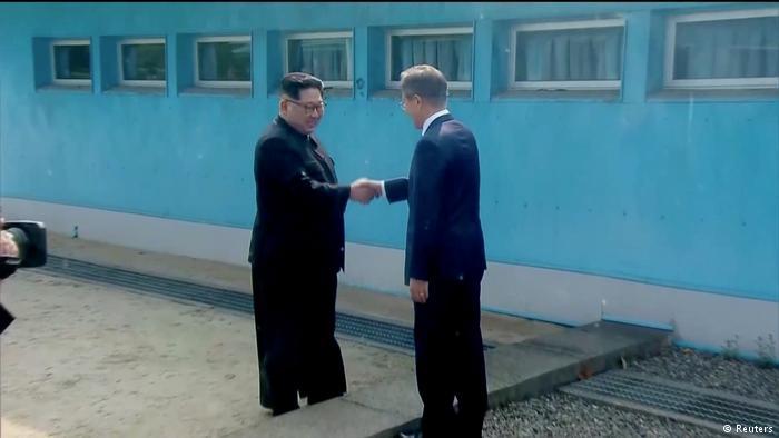 Kim Jong Un cruza frontera con Corea del Sur