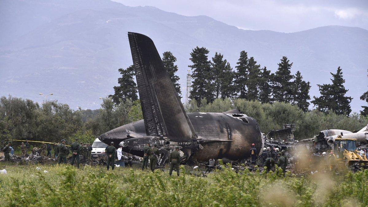 Accidente aéreo en Argelia: 257 militares muertos