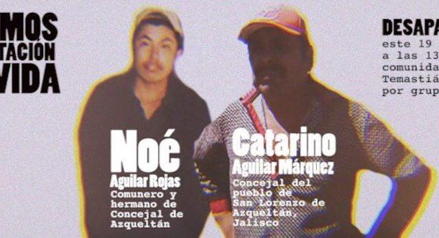 Secuestran a otro concejal y un comunero en Azqueltan, Jalisco, alerta CNI