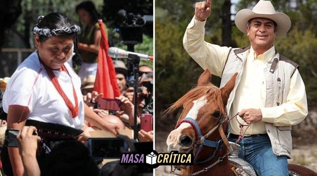 Marichuy y el Bronco no son lo mismo, no los comparemos