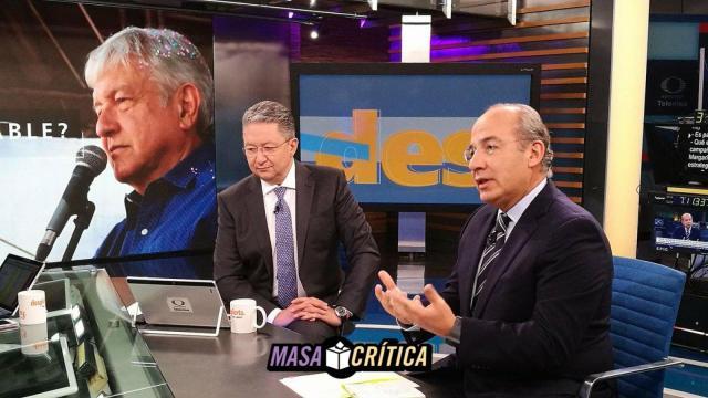 Felipe Calderón en entrevista: ¿vocero de Zavala?