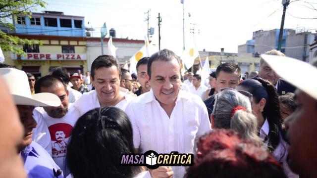 Cuauhtémoc Blanco encabeza encuestas en Morelos